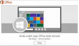 cara install microsoft office 365