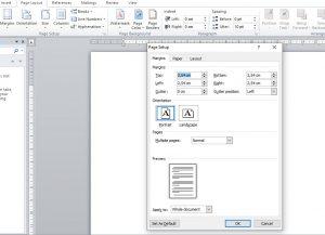 cara mengatur dokumen