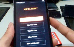 Cara Factory Reset Xiaomi